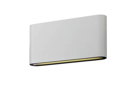 Kinkiet biały LED 10W 4000K lampa ścienna sufitowa Carli Candellux 22-75536