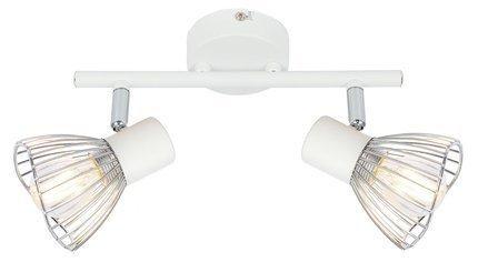 LAMPA ŚCIENNA  CANDELLUX FLY 92-61966 LISTWA  E14 BIAŁY/CHROM