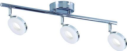 LAMPA ŚCIENNA  CANDELLUX THEMA 93-60785 LISTWA  LED CHROM