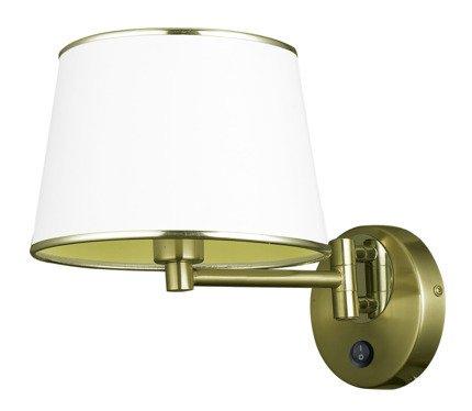 LAMPA ŚCIENNA KINKIET CANDELLUX IBIS 21-01279  E14 PATYNA