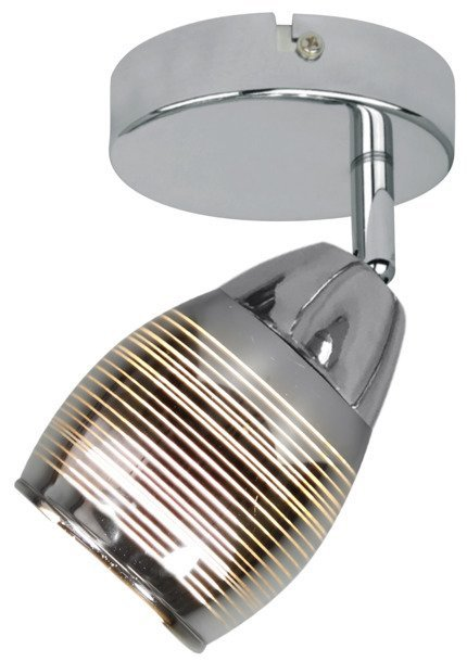 LAMPA ŚCIENNA KINKIET CANDELLUX MILTON 91-58904  E14 LED CHROM