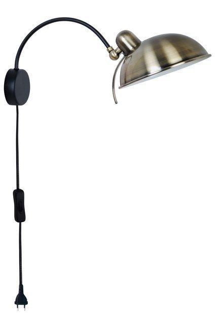 LAMPA ŚCIENNA KINKIET CANDELLUX NORA 21-53800  E14 PATYNA