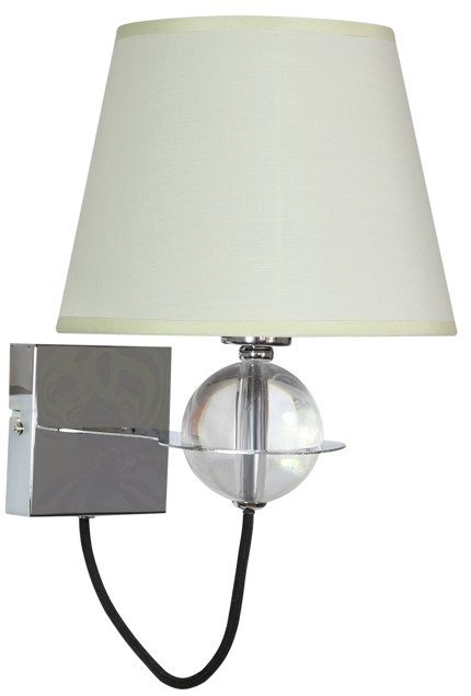 LAMPA ŚCIENNA KINKIET CANDELLUX TESORO 21-29515  E14 KREMOWY JASNY