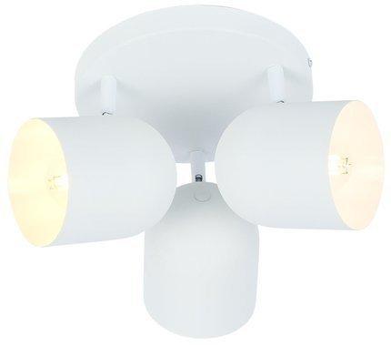 LAMPA SUFITOWA  CANDELLUX AZURO 98-63274 PLAFON  E27 BIAŁY