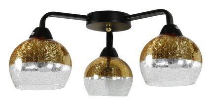 LAMPA SUFITOWA  CANDELLUX CROMINA GOLD 98-57273  E27 CZARNY