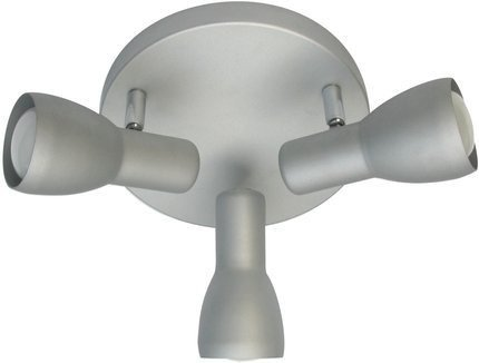 LAMPA SUFITOWA  CANDELLUX PICARDO 98-44242 PLAFON  E14 SZARO SREBRNY