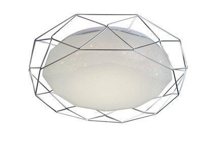 LAMPA SUFITOWA  CANDELLUX SVEN 98-66237 PLAFON  24W LED 3000K CHROM