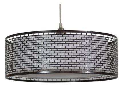 LAMPA SUFITOWA WISZĄCA CANDELLUX BROWN 31-72931   E27 BRĄZOWY