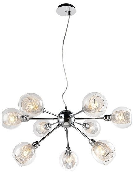 LAMPA SUFITOWA WISZĄCA CANDELLUX DIXI 39-65018  E14 CHROM