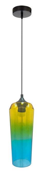 LAMPA SUFITOWA WISZĄCA CANDELLUX EOL 31-51844  E27 ŻÓŁTO ZIELONY