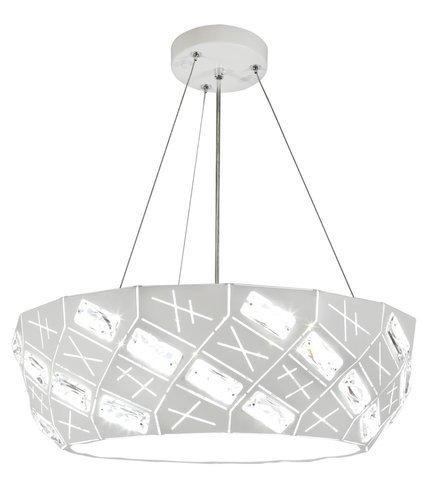 LAMPA SUFITOWA WISZĄCA CANDELLUX GLANCE 31-59154   G9   BIAŁY