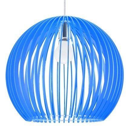 LAMPA SUFITOWA WISZĄCA CANDELLUX HAGA 31-50345  E27  NIEBIESKI