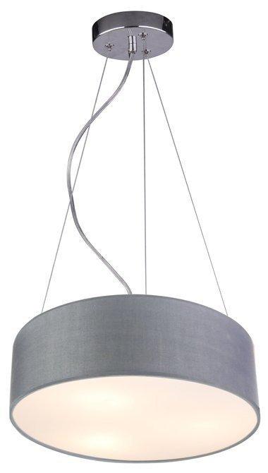LAMPA SUFITOWA WISZĄCA CANDELLUX KIOTO 31-67722   E27 JASNO SZARY