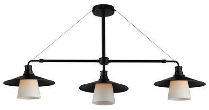 LAMPA SUFITOWA WISZĄCA CANDELLUX LOFT 33-43115  E27 CZARNY