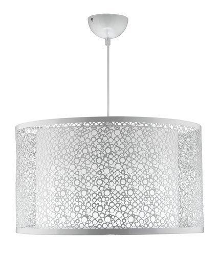 LAMPA SUFITOWA WISZĄCA CANDELLUX MADRAS 31-92727   E27 BIAŁY
