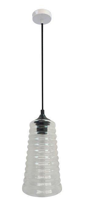 LAMPA SUFITOWA WISZĄCA CANDELLUX MANILA 31-51240  E27 BEZBARWNY