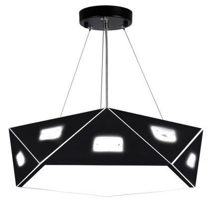 LAMPA SUFITOWA WISZĄCA CANDELLUX NEMEZIS 31-59130 PIĘCIOKATNY   G9   CZARNY