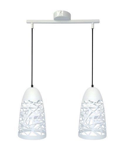 LAMPA SUFITOWA WISZĄCA CANDELLUX SABRIN 32-54869  E27 BIAŁY
