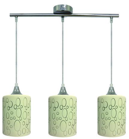 LAMPA SUFITOWA WISZĄCA CANDELLUX SAND 33-57778  E27 CHROM