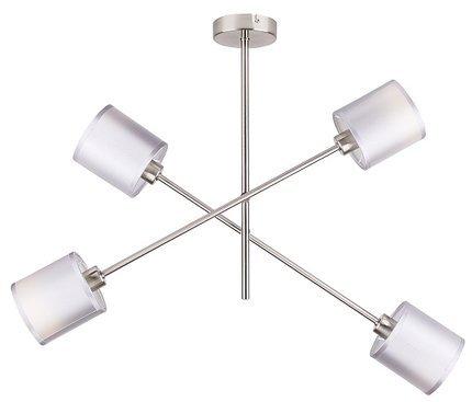 LAMPA SUFITOWA WISZĄCA CANDELLUX SAX 34-70692 SZTYCA  E14 SATYNA