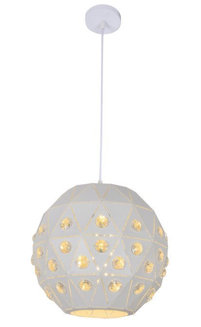 LAMPA SUFITOWA WISZĄCA CANDELLUX TENDER 31-69672   E27 BIAŁY