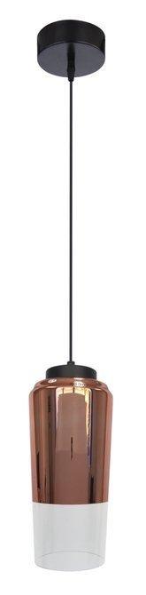 LAMPA SUFITOWA WISZĄCA CANDELLUX TUBE 31-51271   E27 MIEDZIANY