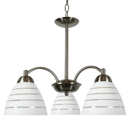 LAMPA SUFITOWA WISZĄCA CANDELLUX ULI 33-66152  E27 SATYNA