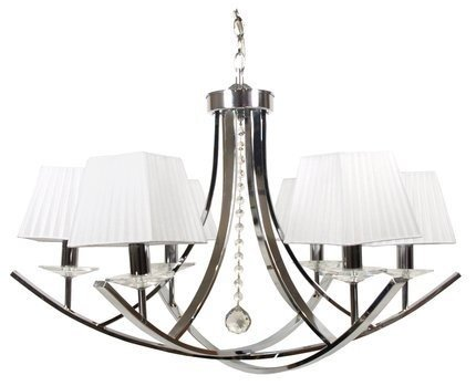 LAMPA SUFITOWA WISZĄCA CANDELLUX VALENCIA 36-84579  E14 CHROM
