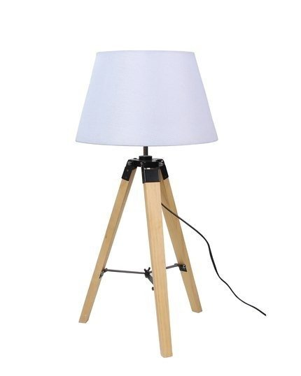 Lampa Stołowa Gabinetowa Candellux Lugano 41-31136 E27 Beżowy