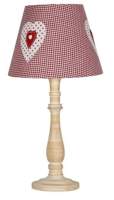 Lampa Stołowa Gabinetowa Candellux Sweet 41-64196 E14 Różowa