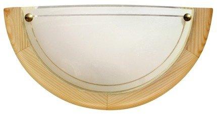 Lampa Sufitowa Candellux 1030 11-32440 Plafon1/2 Drewno Standard E27 Sosna