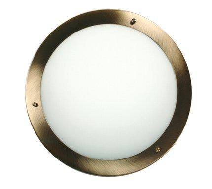 Lampa Sufitowa Candellux Aquila 12-69962 Plafon G9 Patyna Ip44