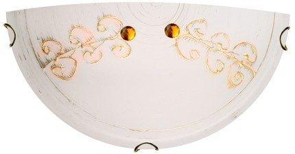 Lampa Sufitowa Candellux Asme 11-34611 Plafon E27 Złoty