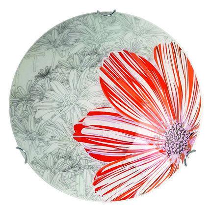 Lampa Sufitowa Candellux Spring 13-04055 Plafon E27 Czerwony