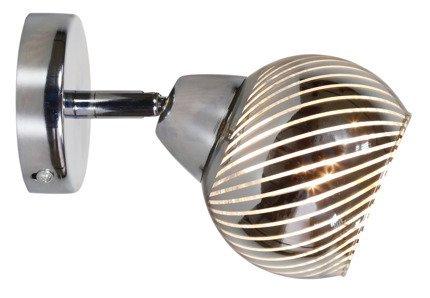 Lampa ścienna kinkiet 1X10W E14 chrom FORT 91-62802