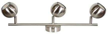 Lampa ścienna listwa 3X50W GU10 satyna BALT 93-60624
