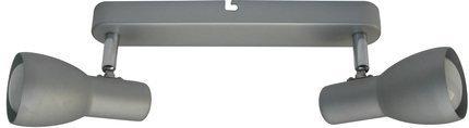 Lampa ścienna sufitowa listwa srebrna 2x40W Picardo 92-44211