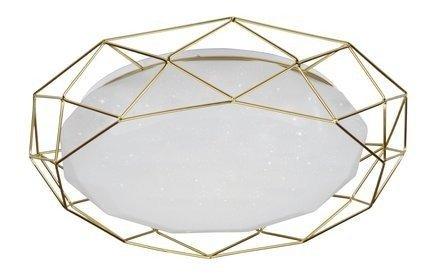 Lampa sufitowa plafon 24W LED 3000K złoty SVEN 98-66312