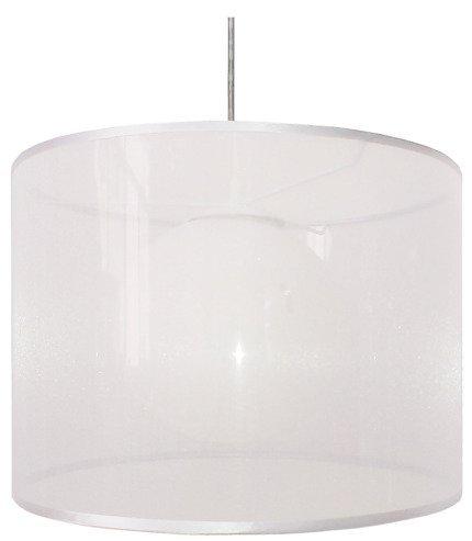 Lampa sufitowa wisząca 1X60W E27 biały CHICAGO 31-24886