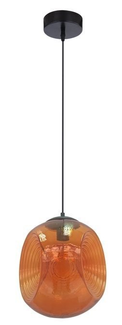 Lampa sufitowa wisząca 1X60W E27 pomarańczowy CLUB 31-51233