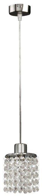 Lampa wisząca chromowa z kryształkami białymi Royal Candellux 31-31894