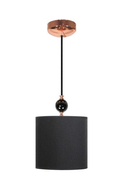 Lampa wisząca czarna miedziana Melba 31-39385