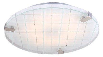 Plafon chrom/biały 31cm LED zimny Noble 13-30085