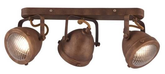 LAMPA ŚCIENNA  CANDELLUX FRODO 93-71088 LISTWA  GU10 RDZAWY