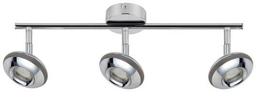 LAMPA ŚCIENNA  CANDELLUX SKIPPER 93-67623 LISTWA  LED COB GŁÓWKA OKRĄGŁA  Z PRZEGUBEM   CHROM