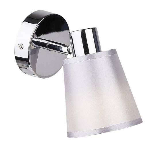 LAMPA ŚCIENNA KINKIET CANDELLUX PIN 91-70814  E14 CHROM