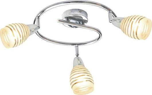 LAMPA SUFITOWA  CANDELLUX JUBILAT 98-55705 SPIRALA  E14 LED CHROM