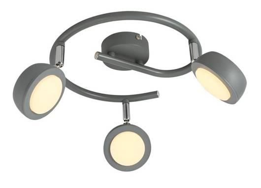 LAMPA SUFITOWA  CANDELLUX MILD 98-66558 SPIRALA  LED SZARY 3000K