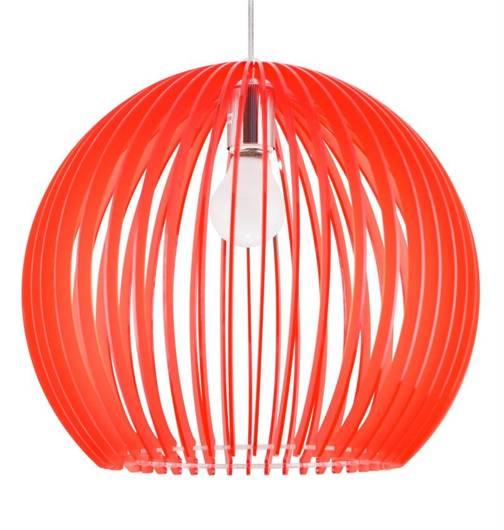 LAMPA SUFITOWA WISZĄCA CANDELLUX HAGA 31-50413  E27  CZERWONY
