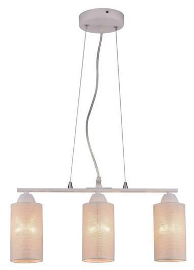 LAMPA SUFITOWA WISZĄCA CANDELLUX INDIRA 33-58607  E14 BIAŁY